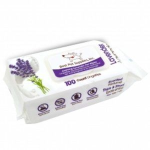 Scented Calming Lavender Pet Wipes